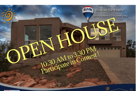 Open House! 25 Buckskin Lane, Sedona AZ 86336 – See Contest $100 Gift Certificate!