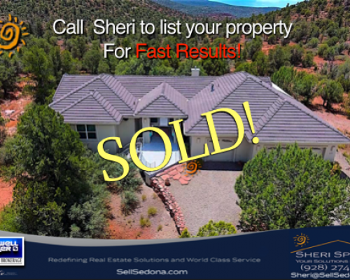 SOLD! – 410 Chrysona Michaels Ranch Sedona, AZ 86336