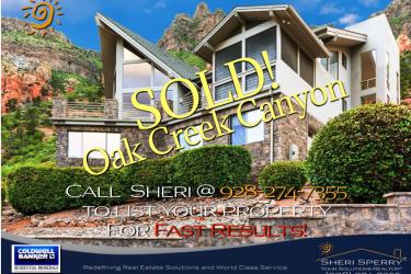 Luxury Home SOLD! – Blackberry Lane, Sedona AZ 86336 –