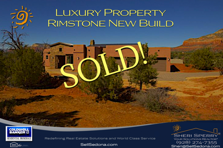 New Build in Rimstone, West Sedona AZ 86336