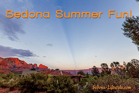 Sedona Summer Fun – Enjoying the Pool…and the View!