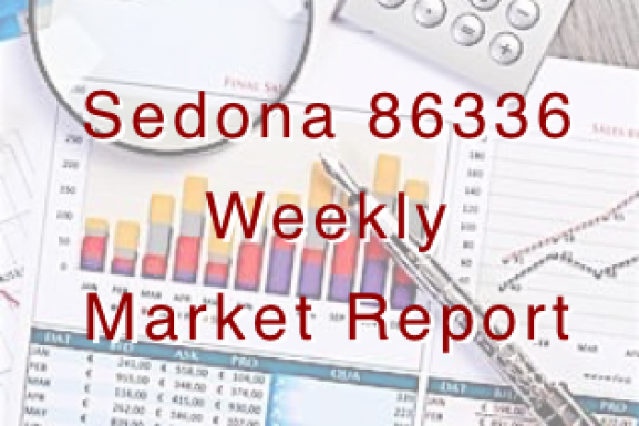 Sedona Weekly Real-Time Market Report With Other Local Information
