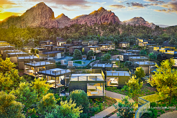 Ambiente Sedona Will Be Welcomed as the First Landscape Hotel in North America – Late 2021!